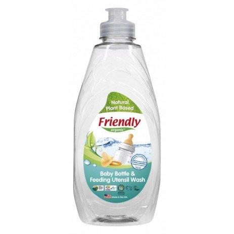 Friendly Organic Препарат за ръчно измиване на бебешки шишета и съдове 414мл.